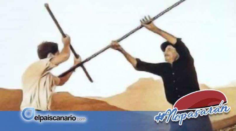 """8 FEBRERO. Se presenta en Firgas el libro """"El Garrote Canario. Origen y rescate"""" de Jorge Domínguez"""