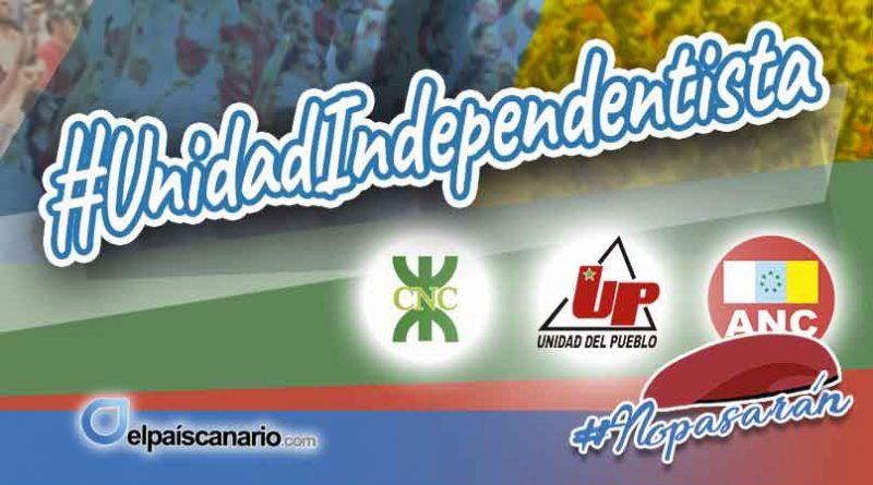 El viernes 8 de febrero tendrá lugar la presentación del nuevo proyecto político nacido de la apuesta por la unidad del independentismo canario