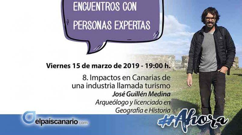 15 MARZO. José Guillén Medina hablará en LA CASA VERDE de Firgas sobre turismo y sus impactos