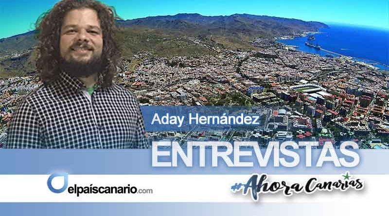 """Aday Hernández, candidato a la alcaldía de Santa Cruz de Tenerife por AHORA CANARIAS: """"una apuesta de servicio a la sociedad debe pasar por dar sentido, dignificar y normalizar unas políticas sociales que tengan en la gente su único horizonte"""""""