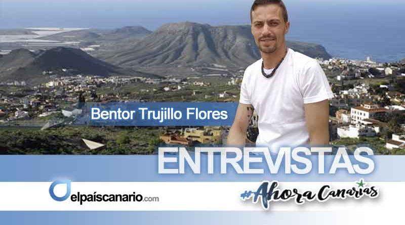 """Bentor Trujillo, candidato a la alcaldía de Arona por AHORA CANARIAS: """"No puede ser que Arona sea el motor turístico de la isla de Tenerife y al mismo tiempo las personas de nuestro municipio no tengan oportunidades de empleo y de una vida digna"""""""