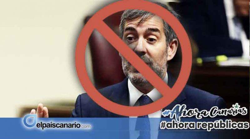 """Los trabajadores del Hospital Universitario de Canarias declaran persona """"non grata"""" a Fernando Clavijo"""