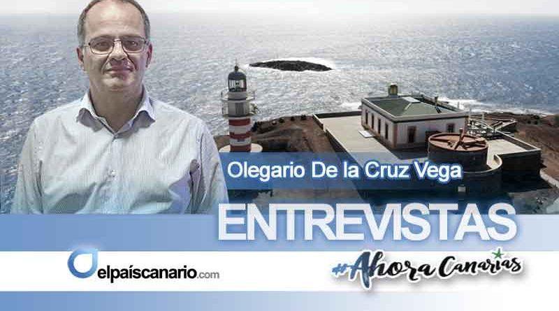 """Olegario de la Cruz Vega, AHORA CANARIAS en Agüimes: """"Queremos una Canarias habitable"""""""