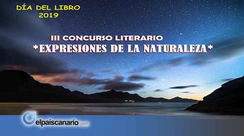 """6 JUNIO. Se entregaran en Firgas los premios del III Concurso Literario """"Expresiones de la Naturaleza"""""""
