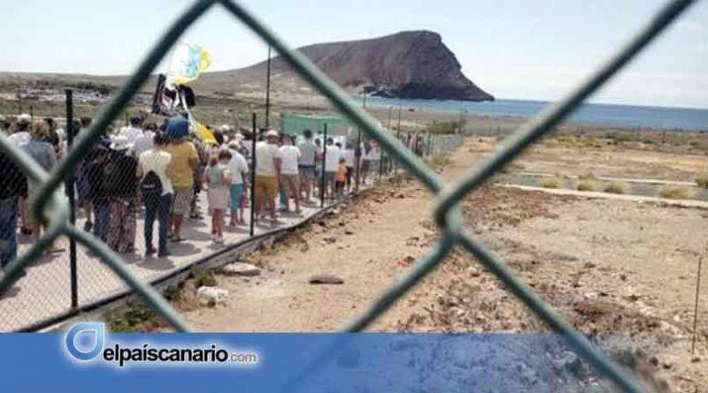 Ahora Canarias exige la paralización inmediata de las obras para construir un hotel en La Tejita