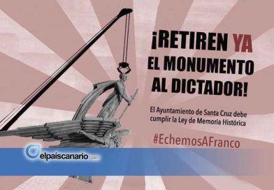 La Junta Republicana de Canarias exige al Ayuntamiento de Santa Cruz la retirada del monumento a Franco
