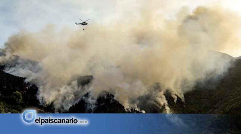 AHORA CANARIAS muestra su preocupación por los incendios que están azotando Gran Canaria y reclama mayor inversión en prevención