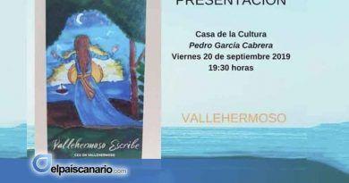 """20 SEPTIEMBRE. El CEO de Vallehermoso presenta su libro """"Vallehermoso escribe"""""""