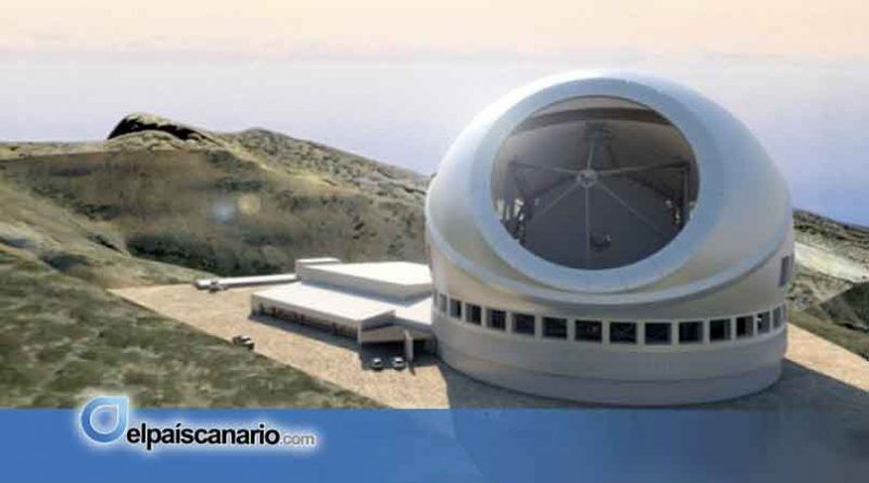 El Consejo de Gobierno aprueba una declaración a favor de la instalación del megatelescopioTMT en La Palma sin atender a las críticas