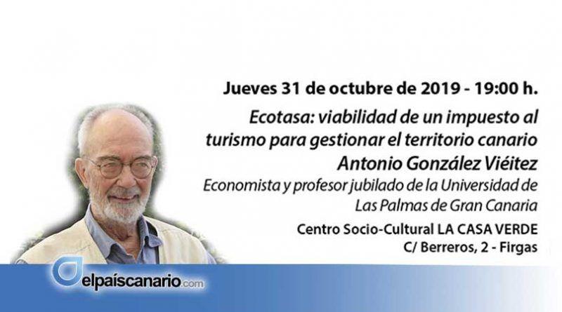 """Firgas acoge la tercera edición de los """"encuentros con personas expertas"""", abordando la problemática del turismo y la emergencia climática"""