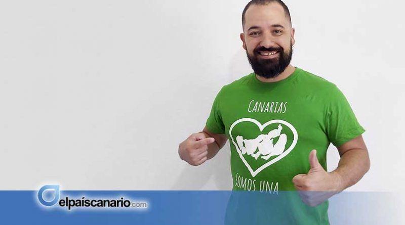 """El humorista Echedey Morán """"Canarionasos"""" se presenta a las elecciones con Ahora Canarias"""
