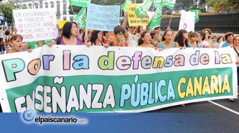 El STEC-IC reclama que el presupuesto educativo para 2020 priorice la Educación Pública Canaria