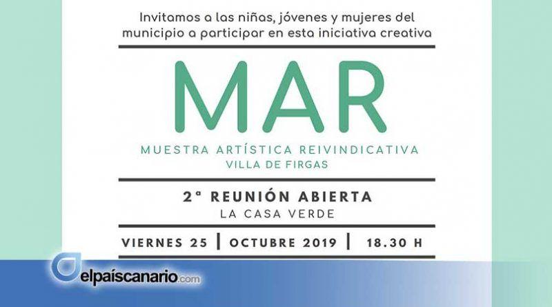 Segunda reunión abierta para desarrollar el proyecto MAR, el viernes 25 de octubre en LA CASA VERDE de Firgas