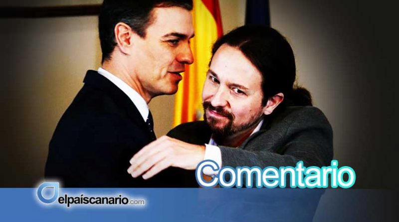 El preacuerdo PSOE-PODEMOS no ofrece alternativas a la crisis del modelo territorial y no dice nada de Canarias