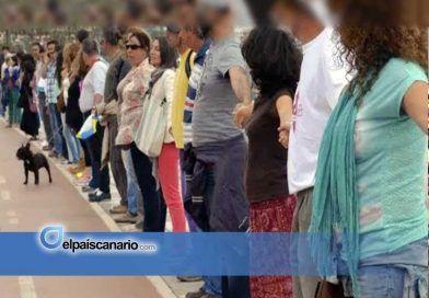 Una cadena humana rodeará el Cabildo el próximo 14 de diciembre