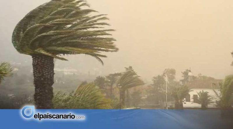 El Gobierno de Canarias actualiza la situación de alerta por vientos en Canarias