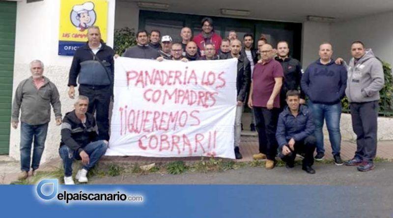 Los trabajadores de Panadería los Compadres a huelga indefinida tras 4 meses sin cobrar