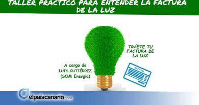 14 FEBRERO. La Casa Verde de Firgas acoge un Taller Práctico para entender la factura de la luz