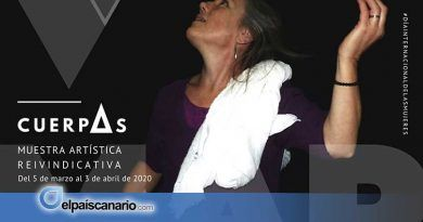 """Mujeres protagonizan la exposición """"cuerpAs"""" con motivo del 8M en Firgas"""