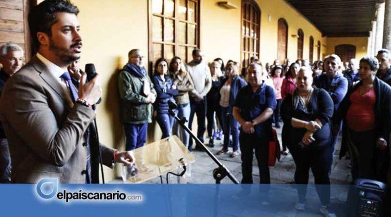 La Laguna: Trabajadores del Plan Extraordinario de Empleo Social denuncian indefensión