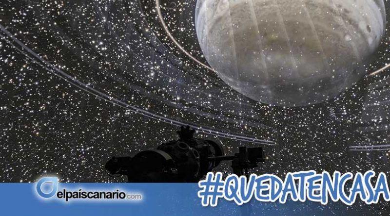 El Museo de la Ciencia y el Cosmos acerca el planetario a casa