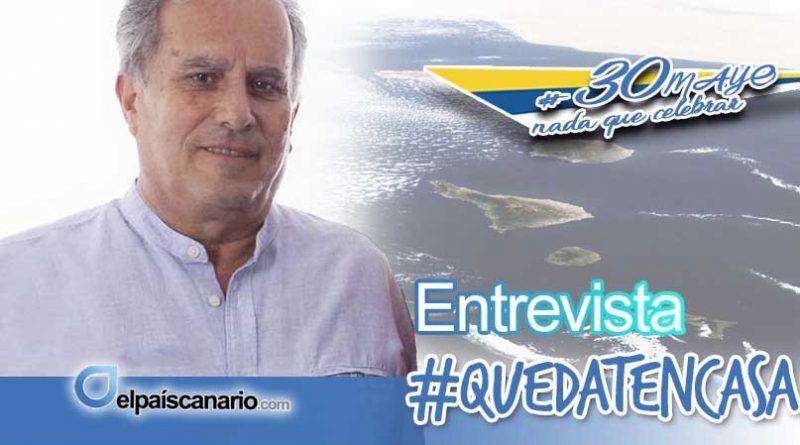 """Vicente Quintana (AHORA CANARIAS): """"sólo desde la plena soberanía política el pueblo canario podrá asumir el control de su devenir histórico"""""""