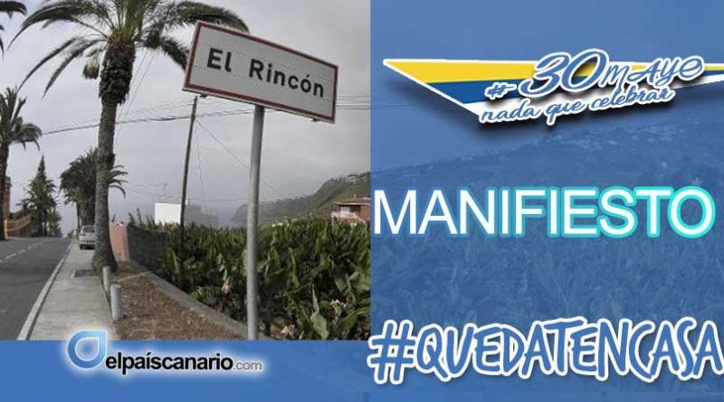 """""""El Rincón"""" en la Perspectiva de un Plan de Transición Ecosocial para Canarias"""
