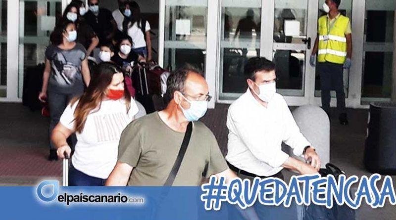 Entra en Lanzarote un pasajero con Covid 19 en un vuelo procedente de Madrid