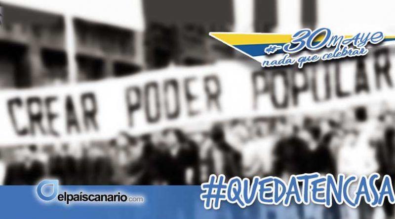 """Anticapitalistas Canarias ante el """"Día de Canarias"""" 2020: """"Construyendo poder popular canario"""""""