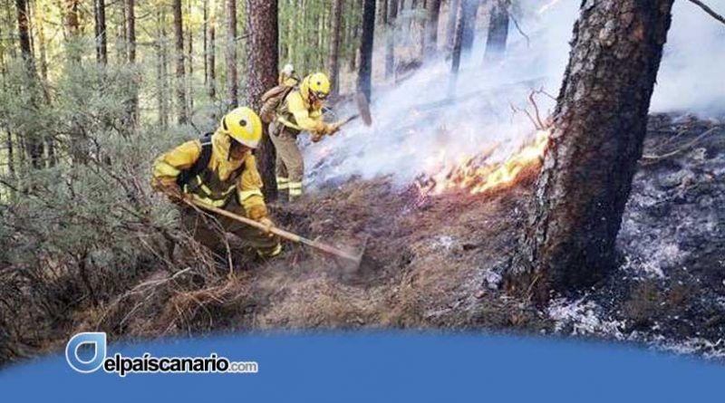 El Cabildo de Tenerife recuerda extremar las precauciones frente al riesgo de incendio por altas temperaturas