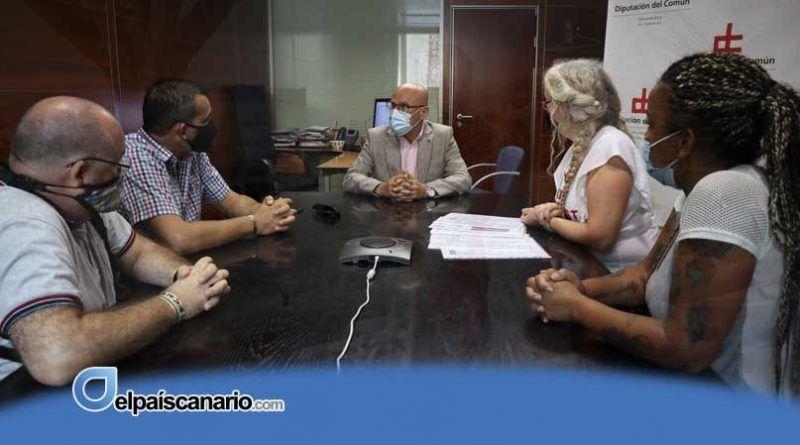 El Diputado del Común solicitará oficialmente al Ayuntamiento de Granadilla los informes sociales necesarios para evitar los desahucios del sur