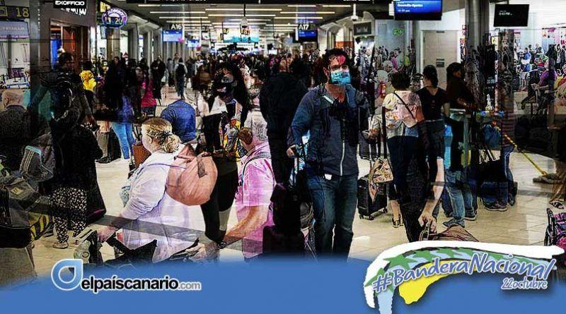 """Intersindical Canaria: """"La incontrolada llegada de turistas supone una temeridad con graves consecuencias para la salud de la población y la economía del Archipiélago"""""""