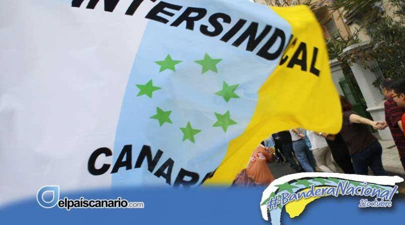 Por su mayoritario respaldo popular, Intersindical Canaria pide el reconocimiento oficial de la Bandera Nacional Canaria