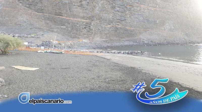 Iniciativa por La Gomera en Valle Gran Rey muestra su preocupación por la opacidad en las obras de la escollera de Vueltas