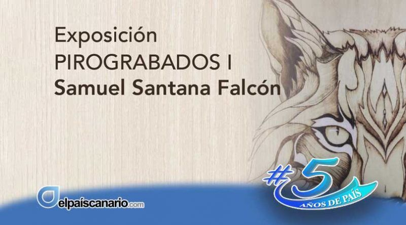 """""""PIROGRABADOS I"""", de Samuel Santana Falcón, se mostrará en el Centro Municipal de Cultura de Arucas, del 3 al 31 de marzo"""