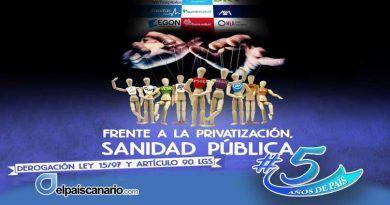 """27 FEBRERO. Concentración en defensa de la Sanidad Pública: """"Frente a la privatización, Sanidad Pública, por la derogación de Ley 15/97 y el art. 90 LGS"""""""