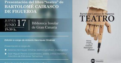 El Teatro de Cairasco de Figueroa se presenta en sociedad