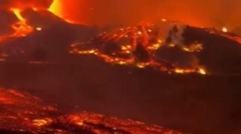 Unos cinco mil vecinos han sido desalojados de manera preventiva en La Palma